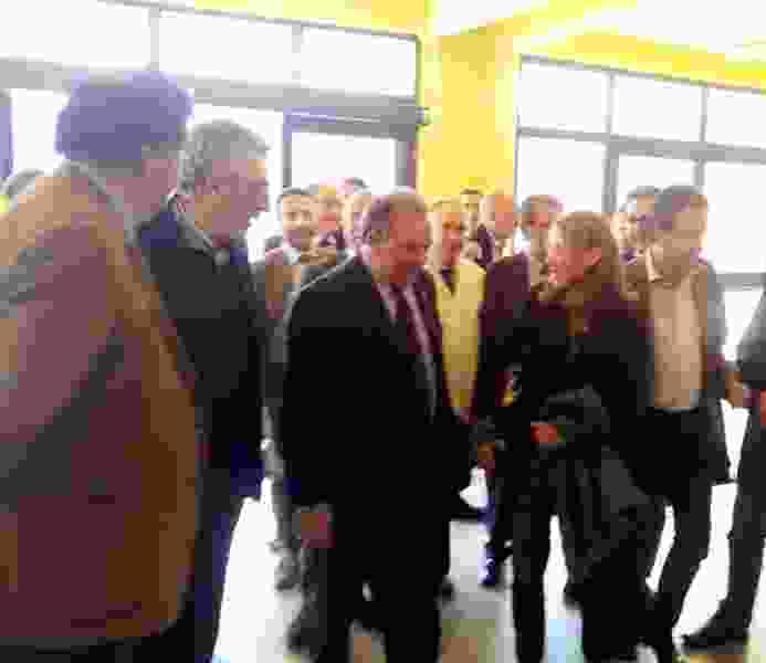 L�ASSESSORE ALLA SANITA� LUCIA BORSELLINO IN VISITA ALL�OSPEDALE MADONNA DELL�ALTO ANNUNCIA ALCUNI POTENZIAMENTI DEL PRESIDIO PER RISPONDERE ALL�EMERGENZA VIABILITA�