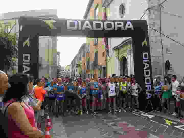A Valledolmo �l� Happy Run� a  Maria La Barbera e Lorenzo Abbate.