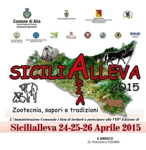 ALIA (PA) - AL VIA SICILIALLEVA 2015, ZOOTECNIA, SAPORI E TRADIZIONI
