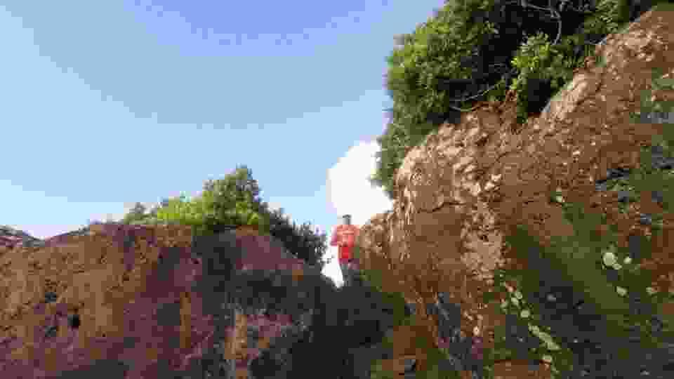 TRAIL/RUNNING. Il siciliano Michele Barrale e la toscana Anna Maria Sistri si aggiudicano il primo �Isola di Ustica Eco WeeK End Trail�