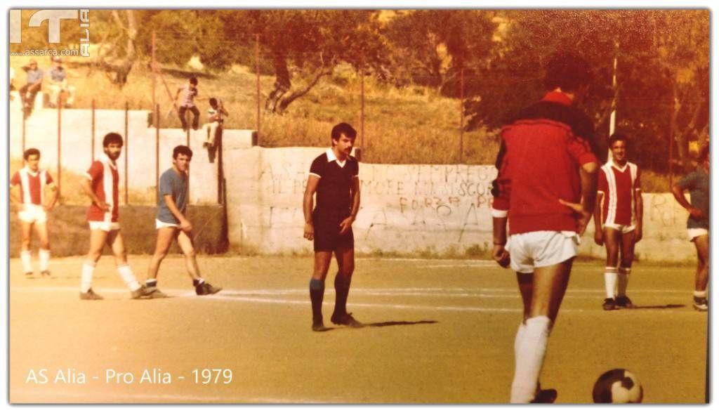 AS Alia Vs Pro Alia - Ricordi del 1979 - Arbitro CAN/D Lorenzo Bellavia