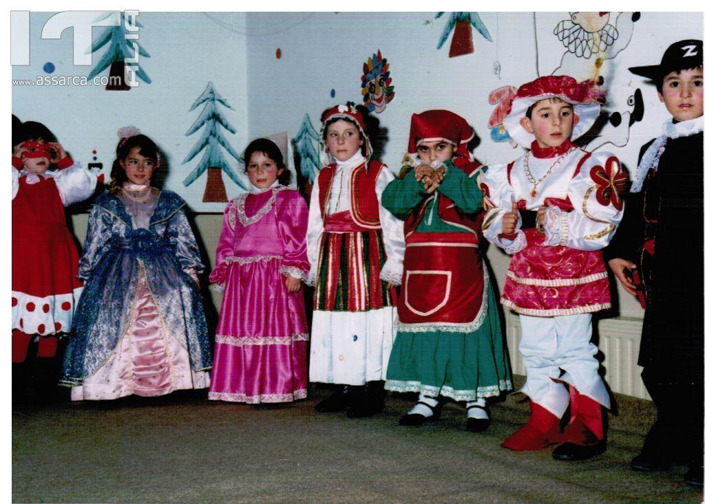 dalle suore,carnevale 1986.