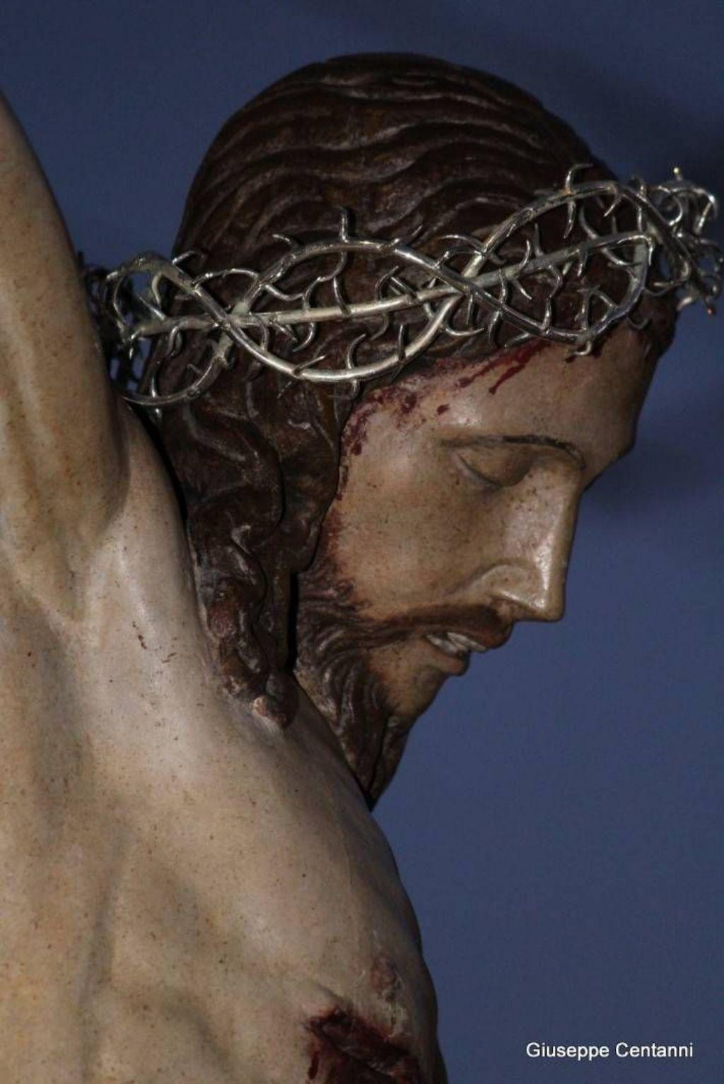 Il volto del Ss Crocifisso di Marcatobianco