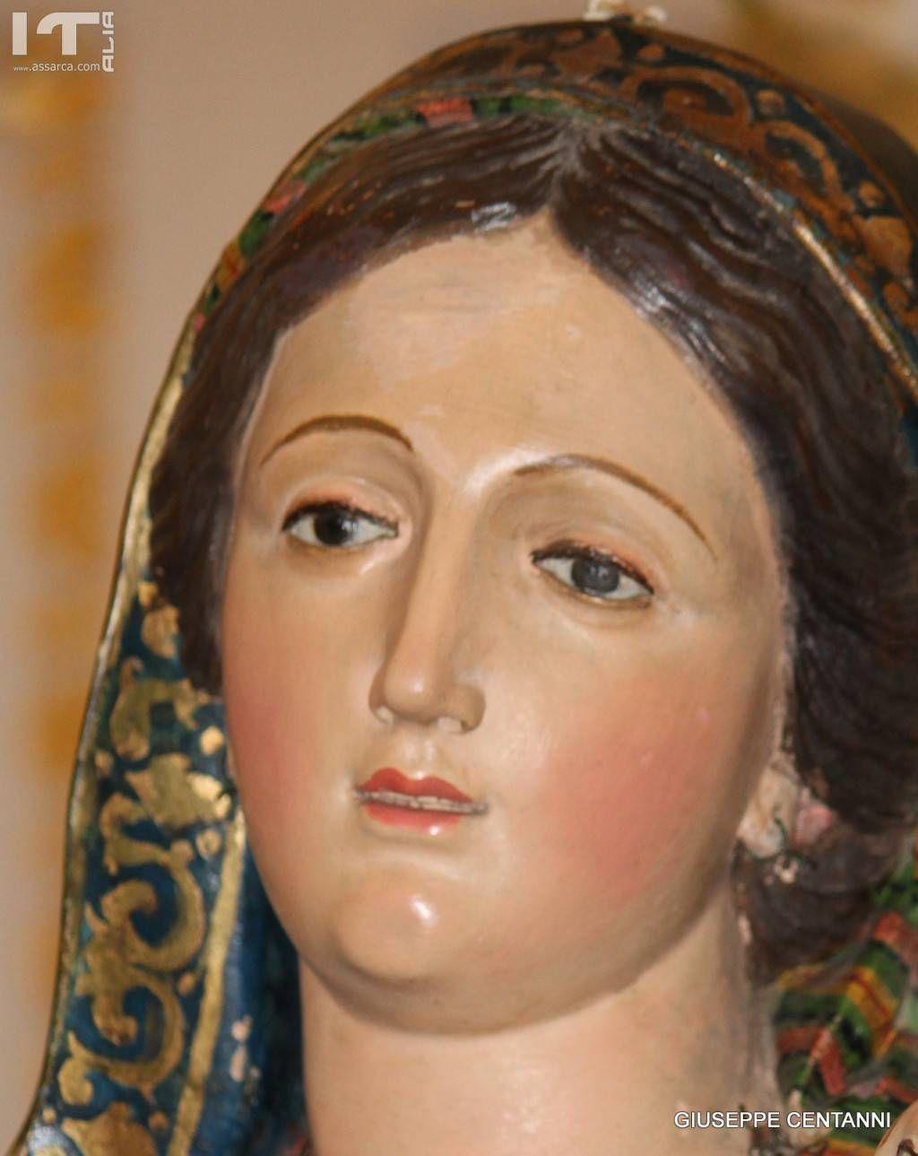 Il volto di Maria santissima delle Grazie