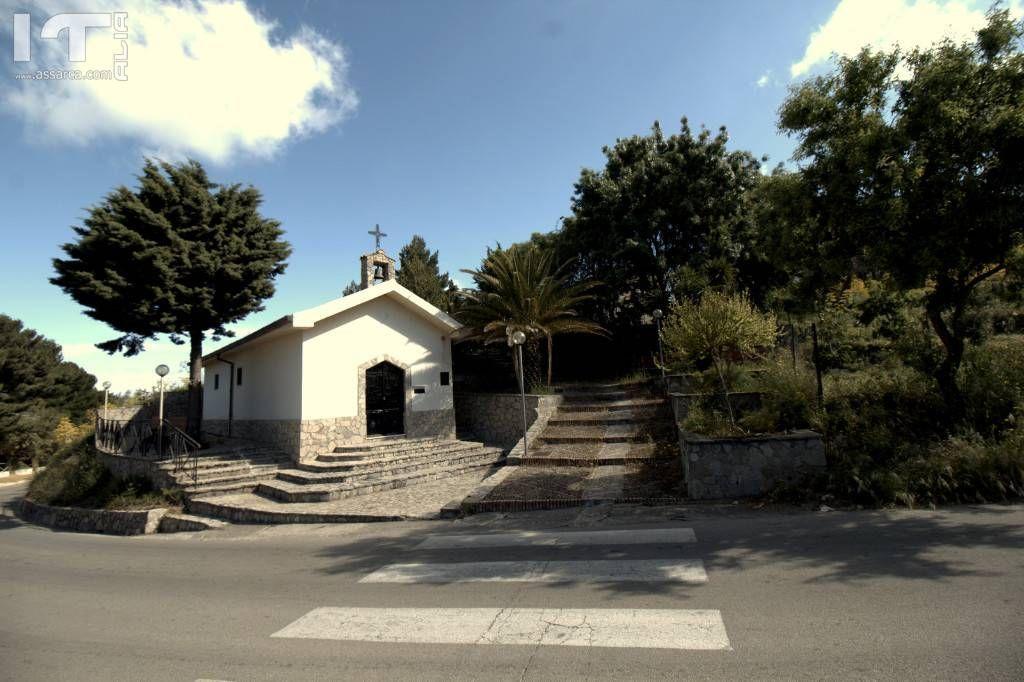 La chiesetta di santa Rosalia la piccola.