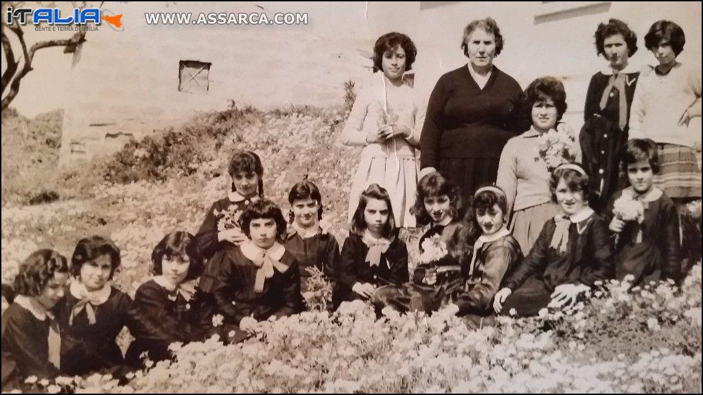 CLASSE QUINTA ELEMENTARE ANNO 1962