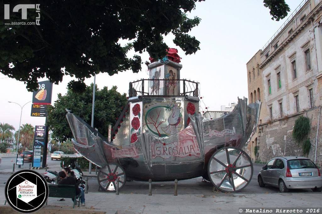Carro Santa Rosalia