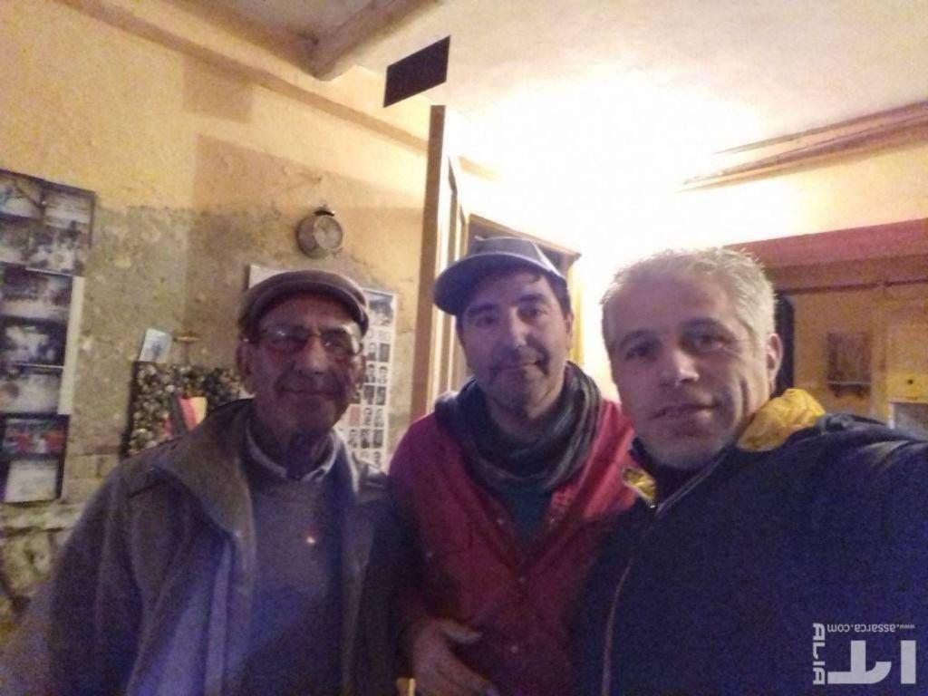 Alia 05,01,2018 con l`amico Pittore Nino Taravella e Pino Todaro.