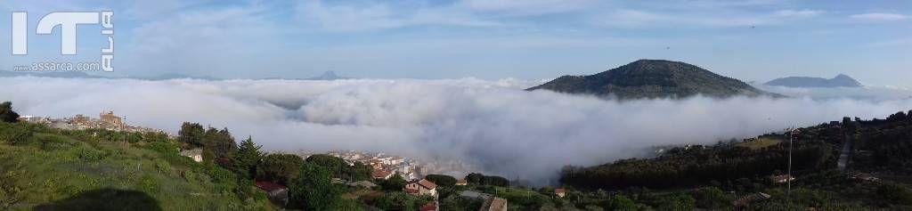 Alia 19 maggio 2018 la nebbia