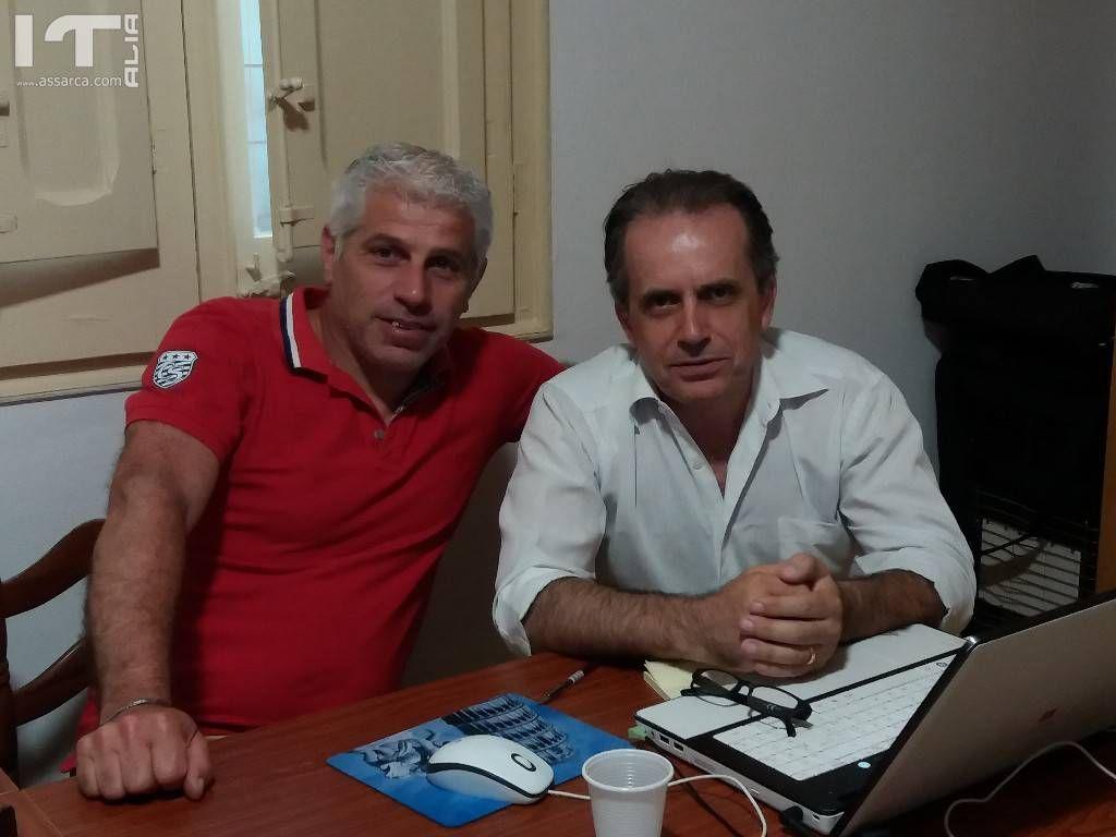 Giuseppe Centanni ed Alfonso Lo Cascio