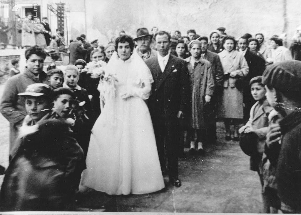 48 - Alia Chiesa Madre 11 Gennaio 1958 - Matrimonio di Pierina Miceli e Antonino Teriaca - Archiphoto Francesco Teriaca