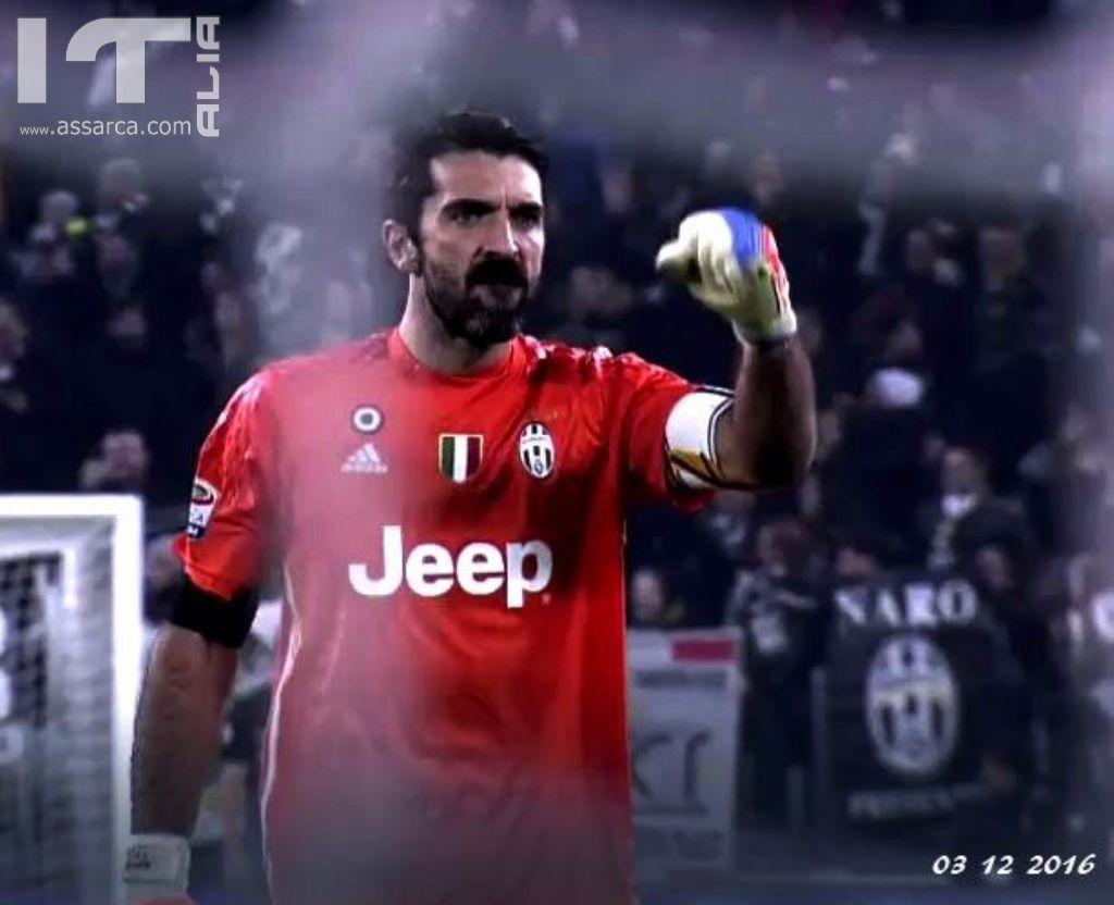 Gigi Buffon - leggenda del calcio Italiano