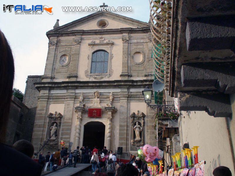 CASTIGLIONE DI SICILIA - BASILICA DELLA MADONNA DELLA CATENA 1655*
