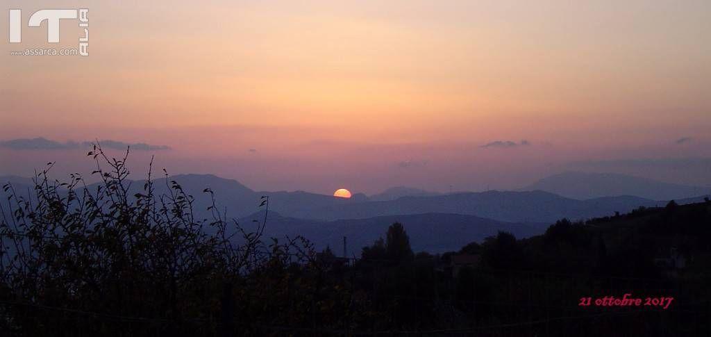 Un tramonto sereno