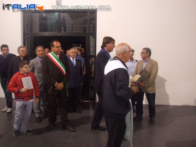 Inaugurazione Centro Congressi di Alia