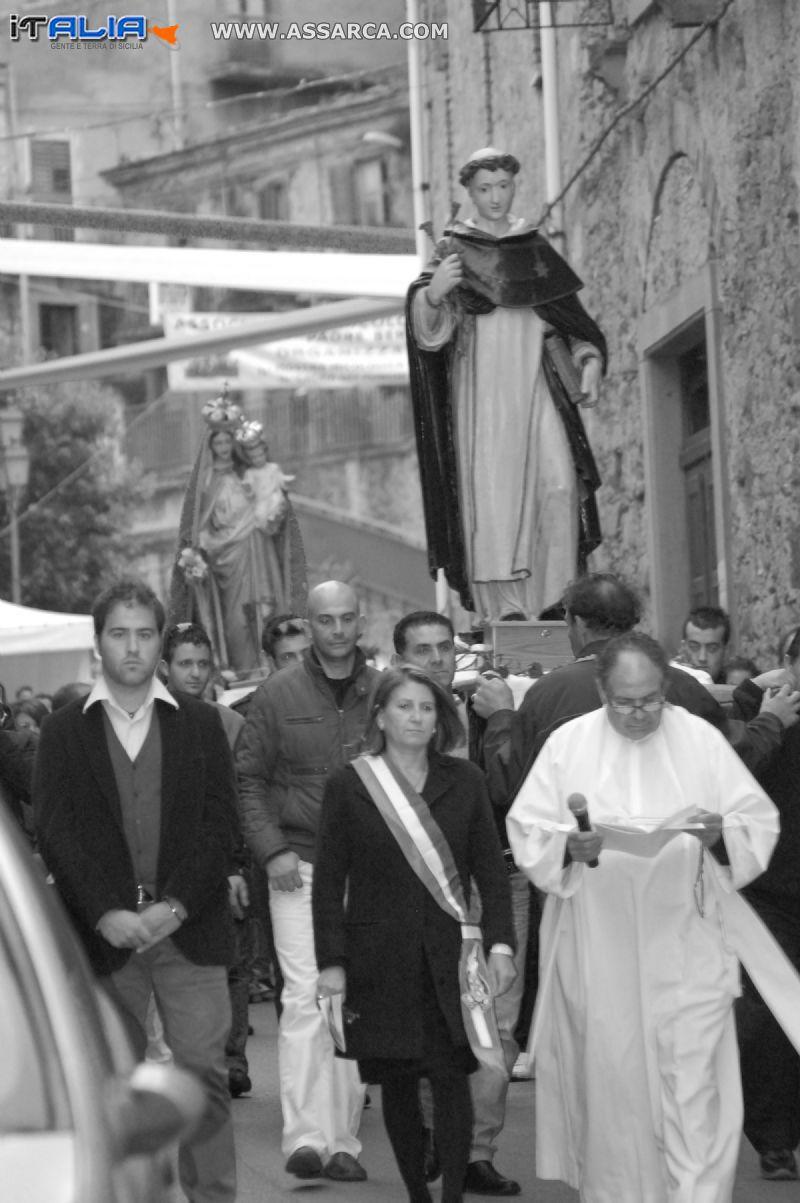 PROCESSIONE DELLA MADONNA DEL ROSARIO E DI SAN DOMENICO