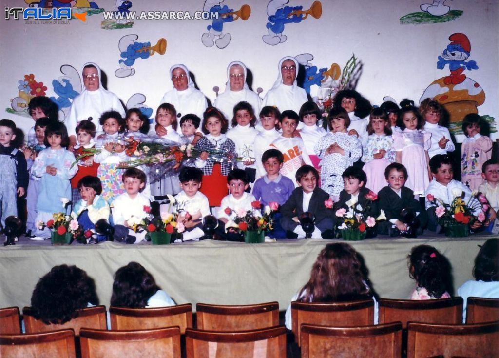 All`asilo dalle Suore anno  1984/85
