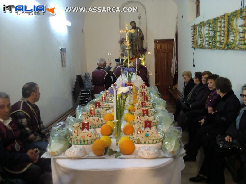 tavolata S. Giuseppe Alia 01.04.2010