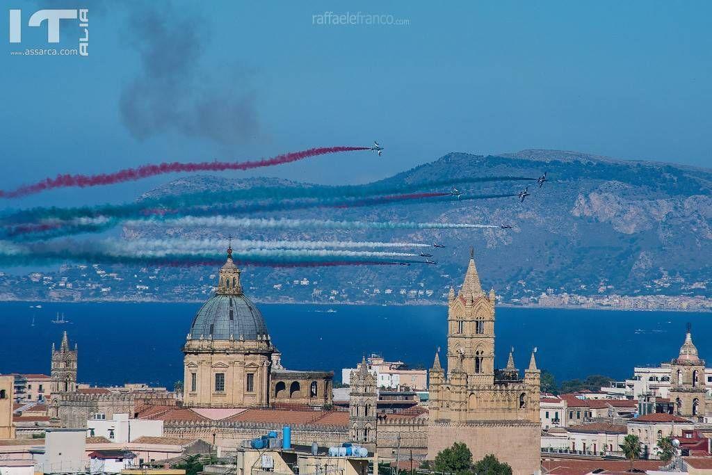 Frecce Tricolori a Palermo -  8 Luglio 2018