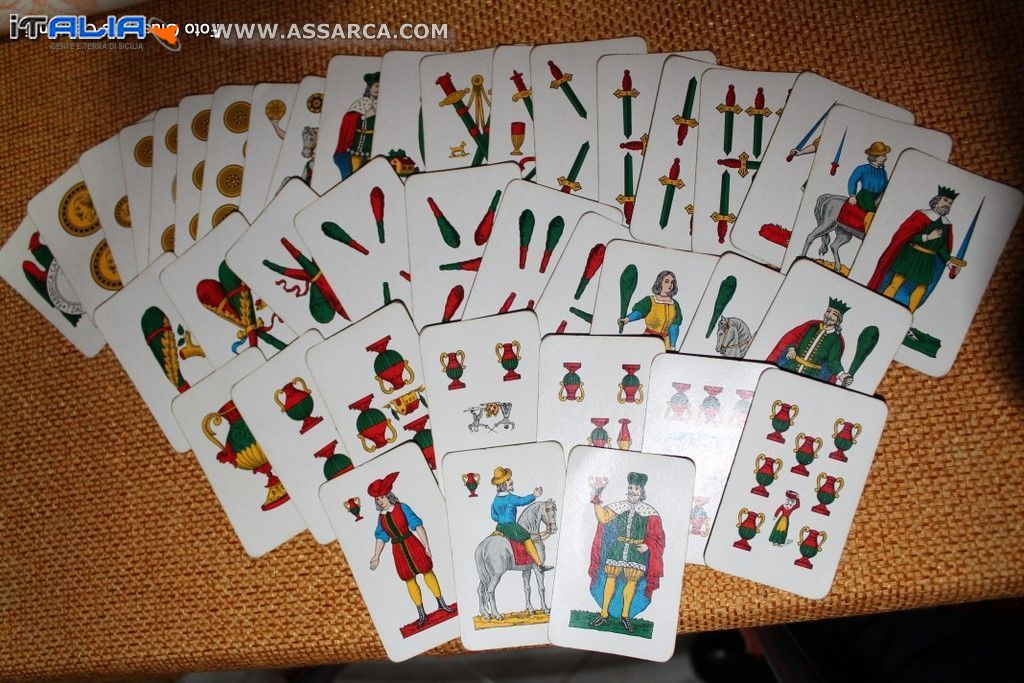 Significato carte siciliane