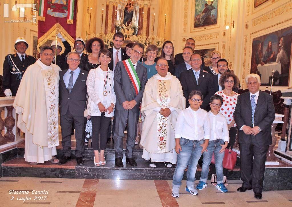 Santuario Maria SS. Delle Grazie - Alia  2 Luglio 2017