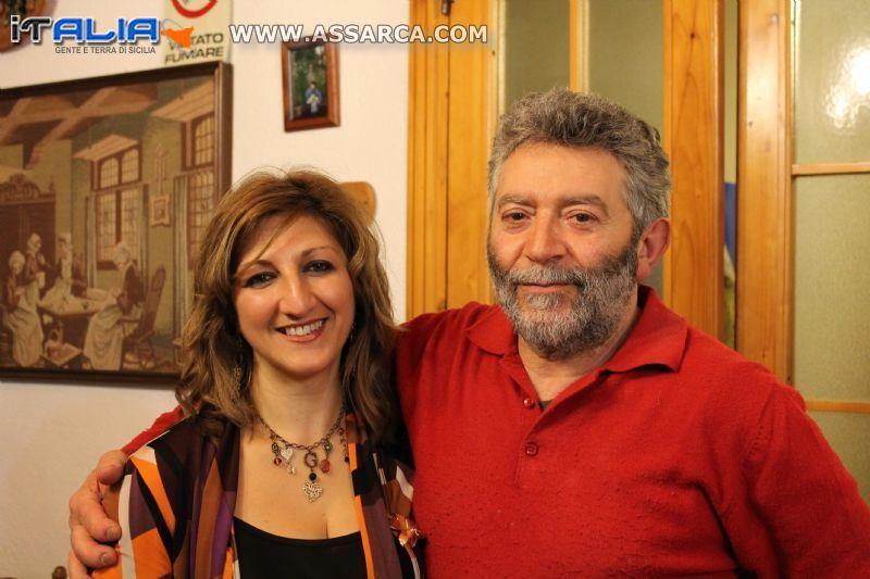 Cettina Centanni e Giacomo Runfola