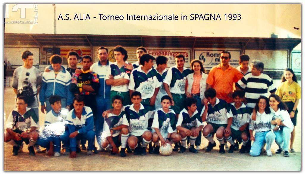 A.S.Alia  1993 Torneo Internazionale in Spagna