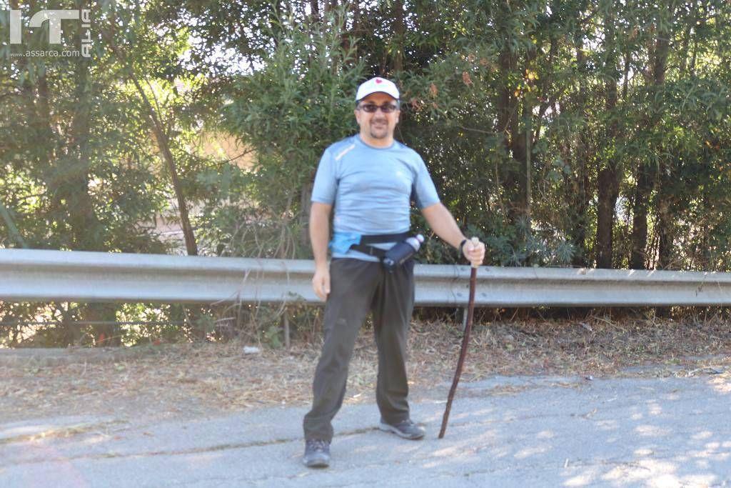 Il camminatore Gaetano.