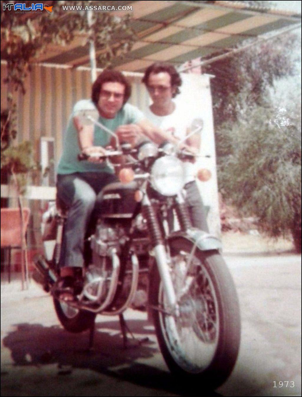 Alia 1973 - Giovanni Giustiniani ed Enzo Leone