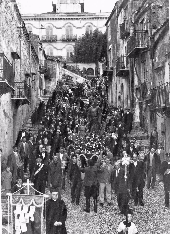 Processione di San Giuseppe anni 60.