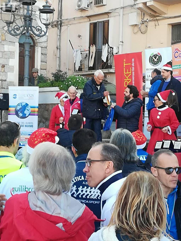 De Trovato Francesco e Macaluso Antonino 87 anni e non sentirli (Christmas Run Città di Capaci 2018)