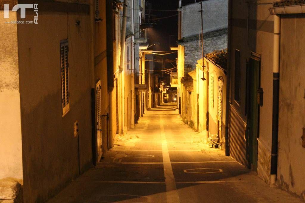 Una strada di Roccapalumba