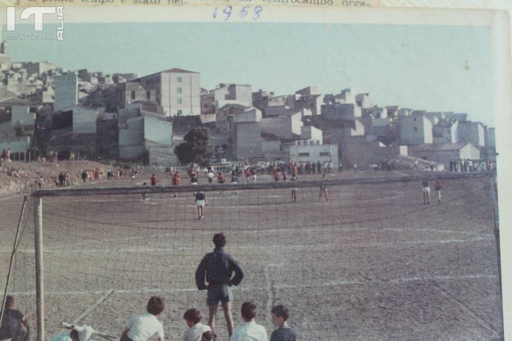 Il campetto comunale in Via Acqualunga,nel 1968