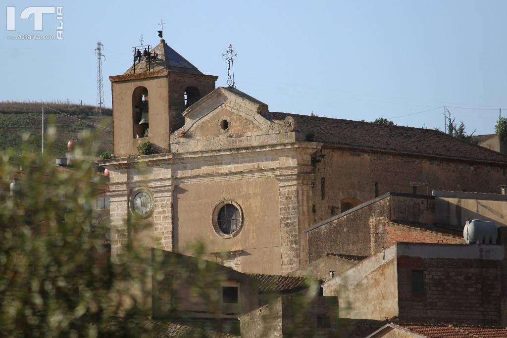 Particolare di una chiesa di Valledolmo.
