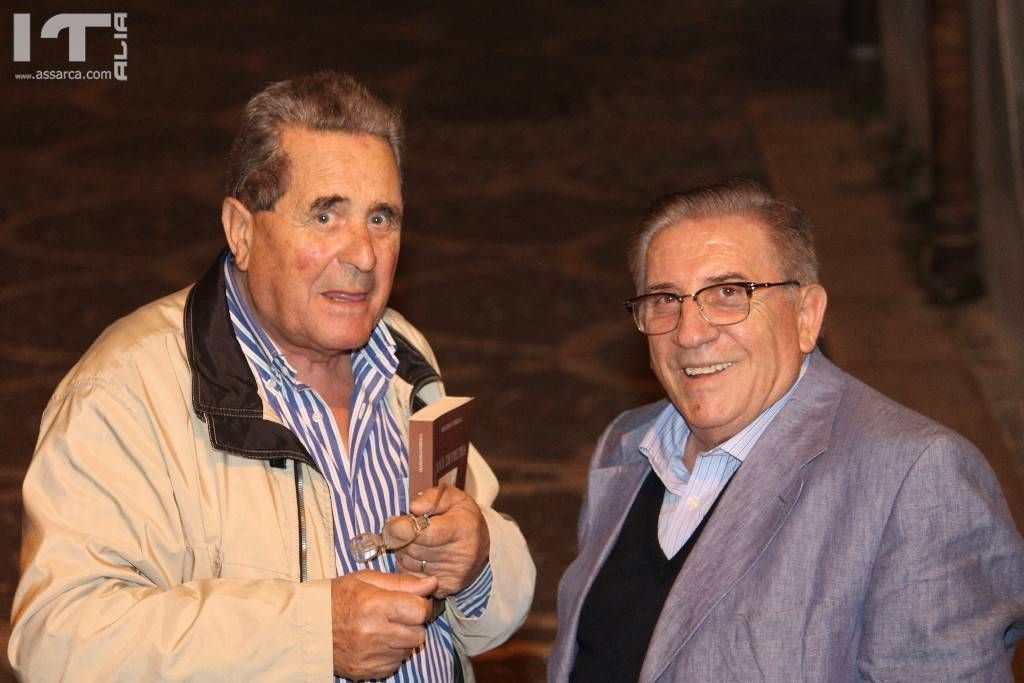 Nino Sagona e  Luigi Teriaca.
