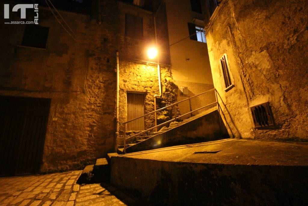 Alia,di notte.