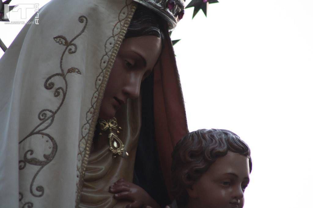 La Madonna del` oratorio. Festeggiata l 8 Settembre.