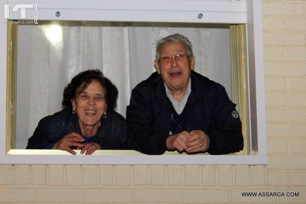 Due belle persone Rosalia e Salvatore Gibiino.