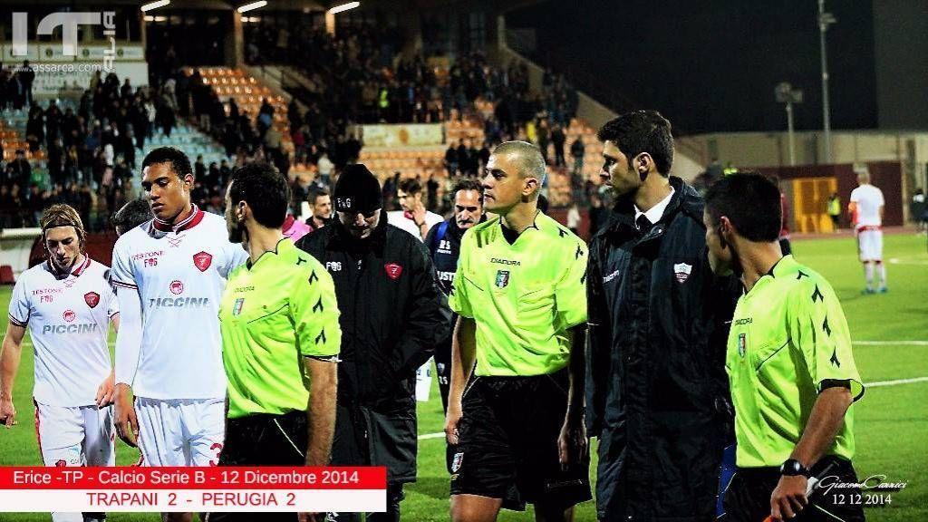 Trapani 2   Perugia 2  -  Serie B  2014/2015 - <a href=http://www.assarca.com/fotoracconti/view.asp?id_fotoracconto=1518>Immagini</a>
