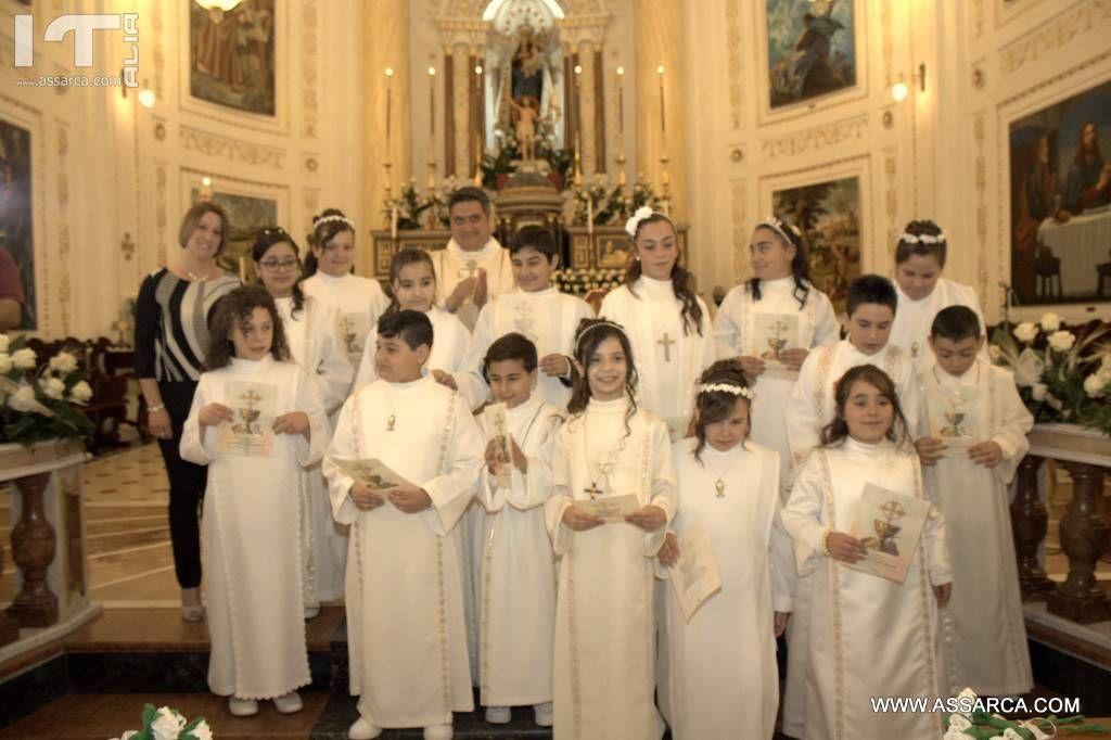 Prima comunione,14 Maggio 2017,chiesa  Maria SS. delle Grazie.