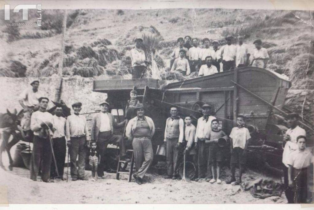 LA TREBBIATURA ANNO 1940