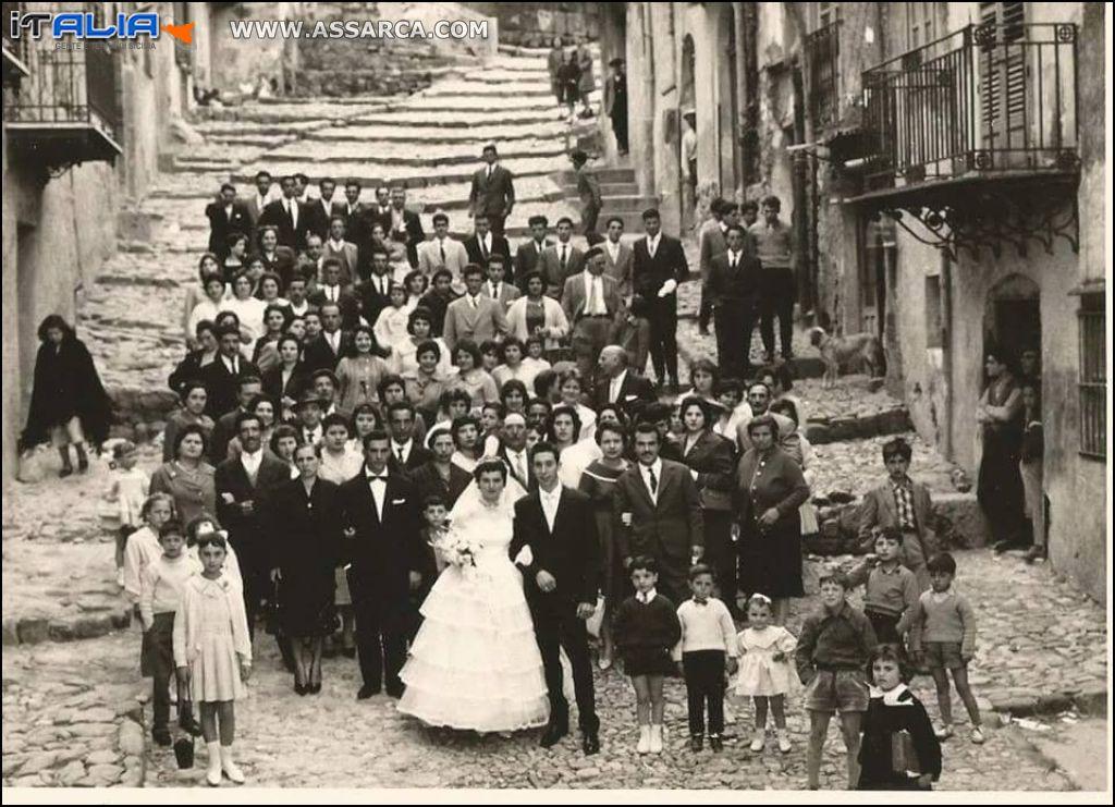 MATRIMONIO ANN0 1960 - ROSALIA FALCONE