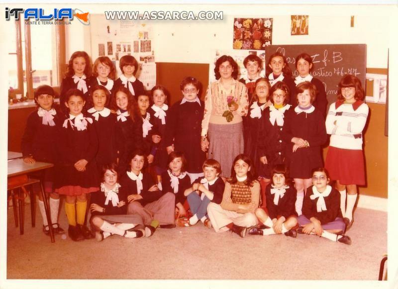 Anno scolastico  1976/ 1977