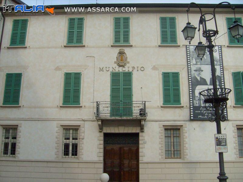 Foto di Brescello R.E  Paese  del famoso film - Don Camillo e Peppone