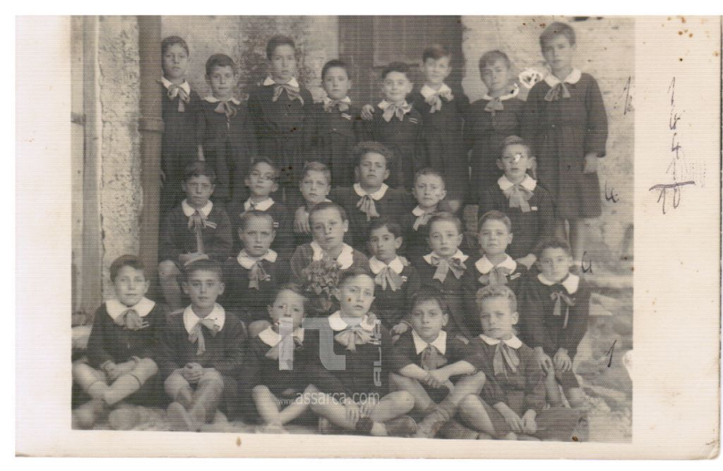 dai ricordi  di Vincenzo Miceli, scuola elementare anni 50.