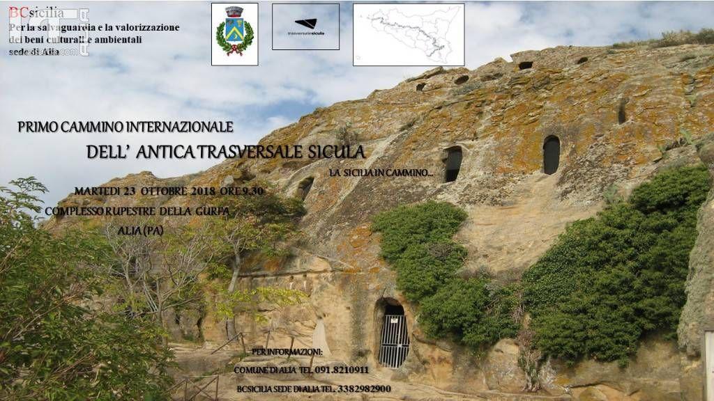 �Primo cammino internazionale  dell`antica trasversale Sicula