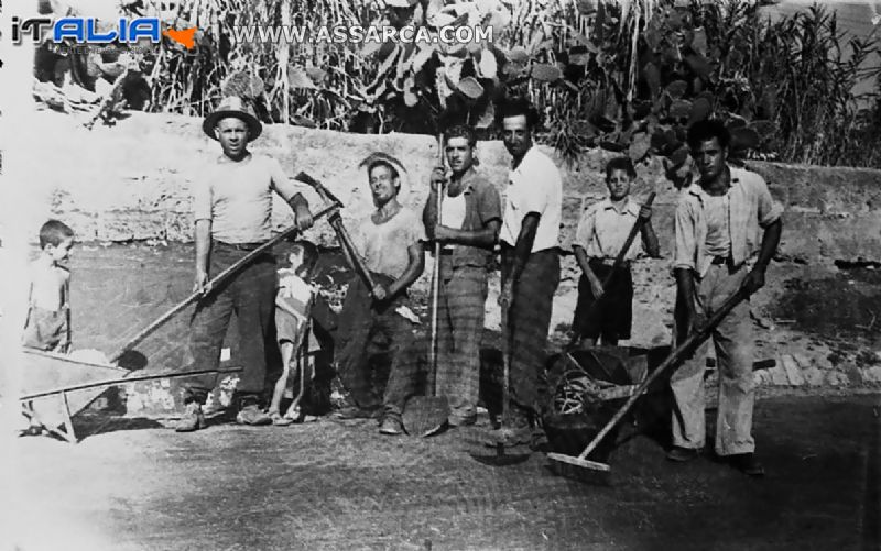 LOCALITA` ALTAVILLA MILICIA 1947-48.