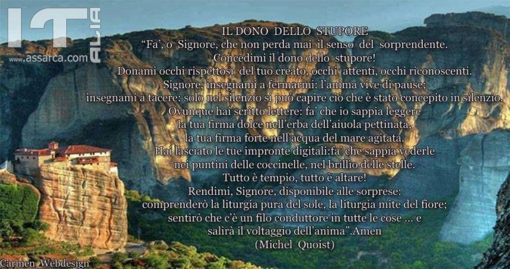 IL DONO DELLO STUPORE - PADRE MICHEL QUOIST