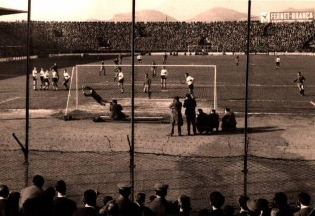 PALERMO CATANIA - SERIE A - 1962
