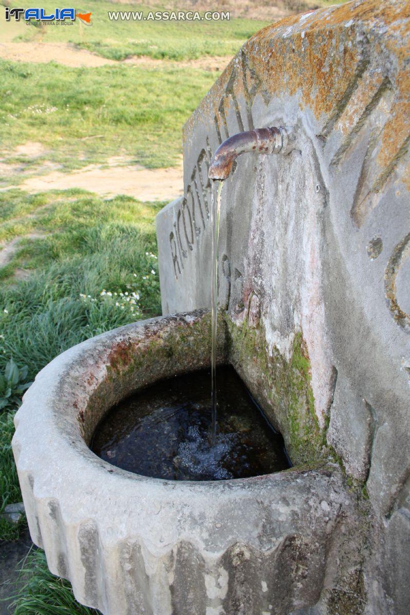 la fontana del bevaio di LA CERSA
